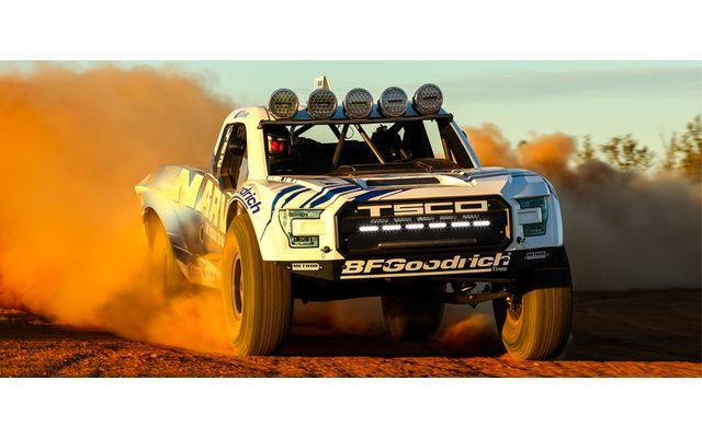 Baja Trophy Truck Off Road Dirt Racing Vinyl Sticker Wall Art