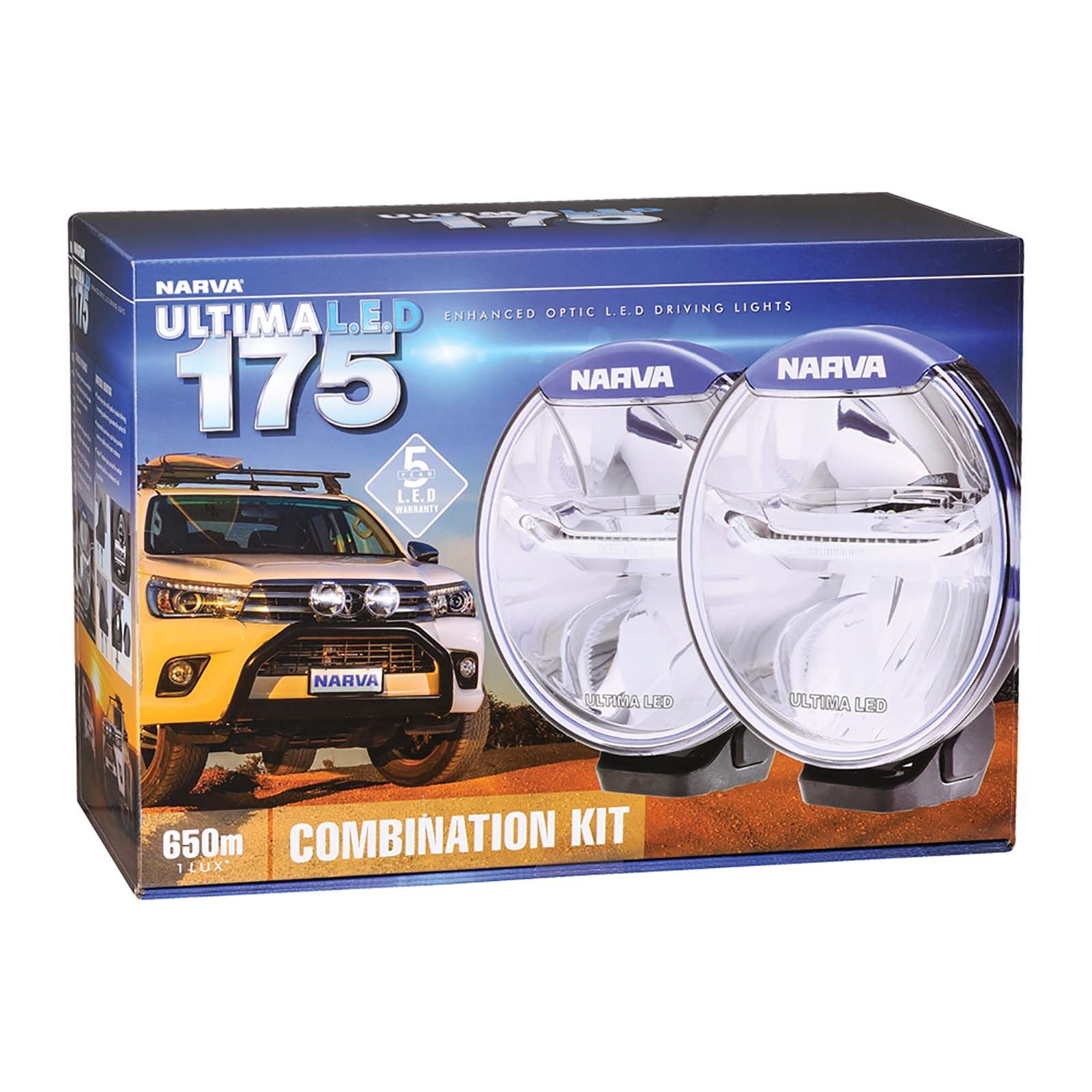 Driving L e Combination Light d Kit NarvaUltima 175 Y7gyf6bv