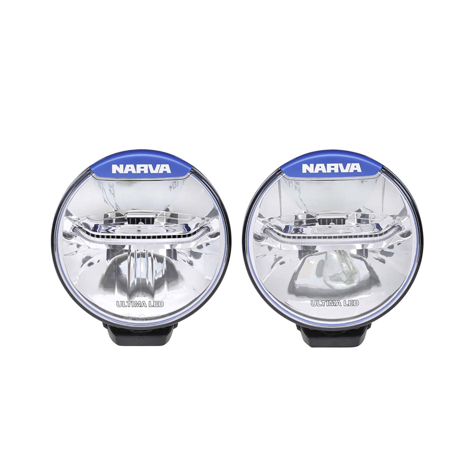 Narva Ultima 175 Led Combination Driving Light Kit Wiring Harness