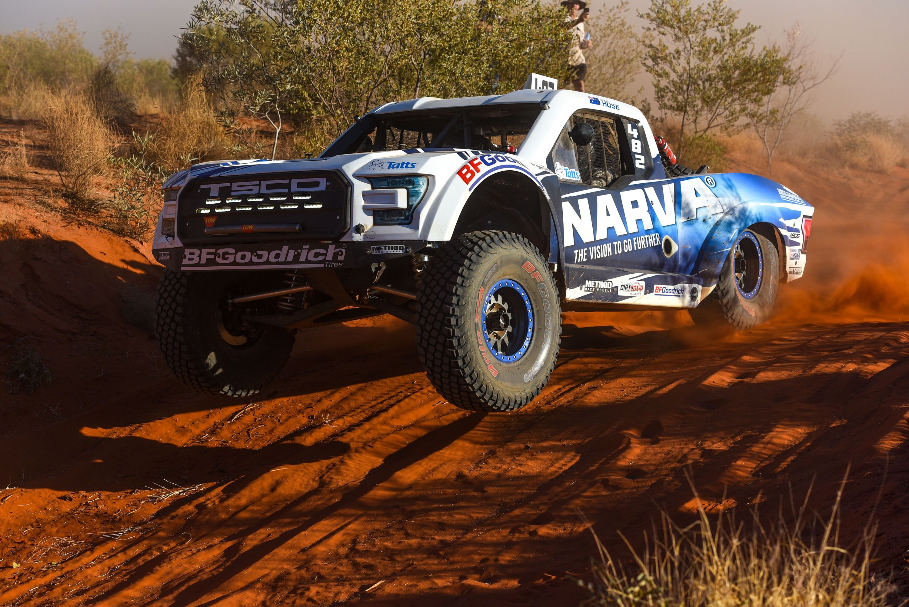 narva tsco trophy truck over red bumps.jpg