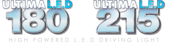 180 and 215 High Powered L.E.D Driving Light Logo