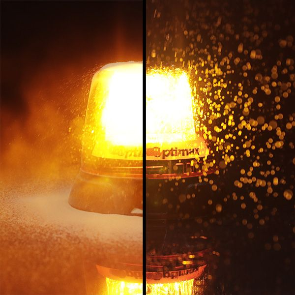 Narva Optimax LED Beacon Feature IP67 rated